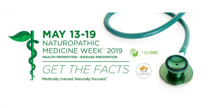 Nova Scotia Naturopathic Medicine Week May 13 – 19 2019