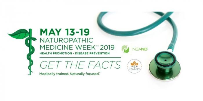 Nova Scotia Naturopathic Medicine Week May 13 – 19 2019